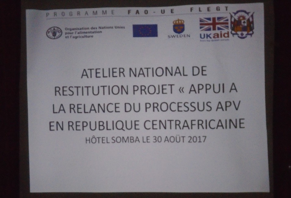 Atelier National de restitution